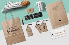 Padaria e Confeitaria Zé da Paia #branding #bakery #food #coffe #package