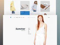UI kit, Minimal Shopping
