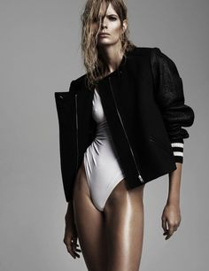 Julia Stegner by Claudia & Stefan for 25 Magazine #fashion #model #photography #girl
