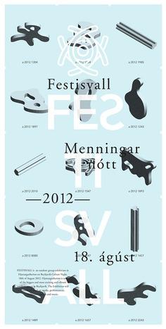 Festisvall annual art festival in Reykjavik