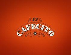 El Cafecito #logo #vintage #cafe