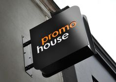 Best Awards - DNA. / Promohouse #signage #orange #sign