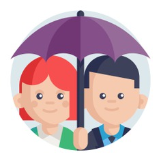 See more icon inspiration related to umbrella, group, wellness, feature, teamwork, insurance, employee, protection, team, user, networking, security and business on Flaticon.