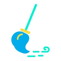 See more icon inspiration related to broom, cleaner, clean, sweep, furniture and household, sweeping and cleaning on Flaticon.