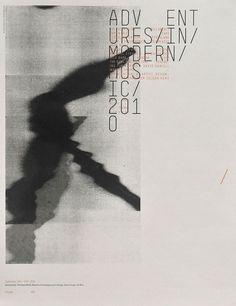 Adventures in Modern Music | Sonnenzimmer - Sonnenzimmer #modern #print #design #poster #music