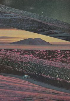 On the Horizon Art Print #print #collage #brian olsen #bryan olson