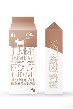 Milla Confessions - The Dieline: The World's #1 Package Design Website -