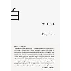White #white #book #clean #minimalist #typography