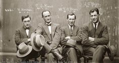 They don't make mugshots like this anymore: Amazing police photos of 1920s criminals arrested in Australia | Mail Online #photography #mugsh