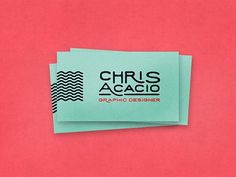 Chris Acacio Business Cards
