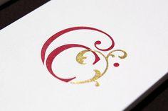 Cornucopia Logo #dublin #vegetarian #cornucopia #design #restaurant #identity #designbyom #logo