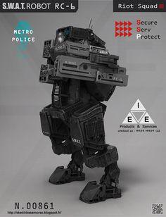 concept robots: Concept robots by Mathieu Lamble #mecha