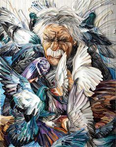 Loves Doves #paper
