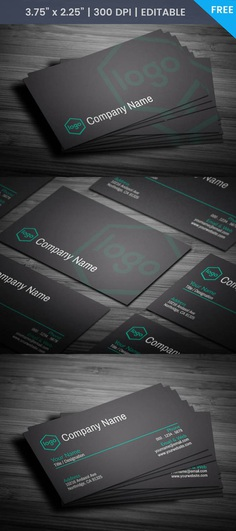 Free Professional Business Card Template