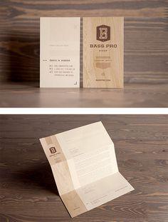 Bass Pro Shop Identity by Fred Carriedo | Inspiration Grid | Design Inspiration #identity