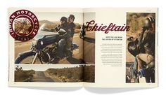 Soul Seven: Indian Motorcycle – Model Year 2015 | Allan Peters' Blog #editorial #layout #design #catalog #print