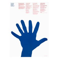 Poster: 20th ICOGRADA Seminar | Alan Fletcher #hand #poster