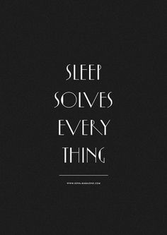 THIS IS A BOOK SHOP — Sleep Solves Everything #magazine #sova #sleep #poster