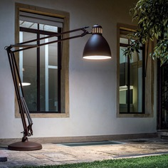 "The Great 165"" Arched Floor Lamp"
