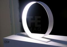 Loop LED table lamp by Timo Niskanen | Lighting | Home
