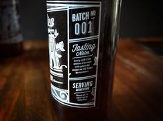 One Small Step IPA Homebrew #packaging #beer #label #bottle