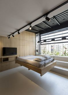 45-sqm Roof Storage Space Converted into a Living Space
