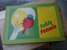 Vintage Pressman Toy Corp Table Tennis Set #pong