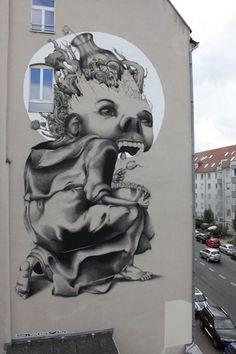 Claudio Ethos, Cologne - unurth | street art #ethos #art #claudio