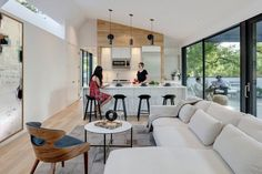 Autohaus Residence and Car Collectors' Garage in Central Texas 9