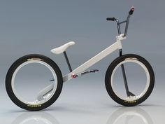 A hubless BMX and a helpless designer - Minimalissimo #bmx #design #bicycle