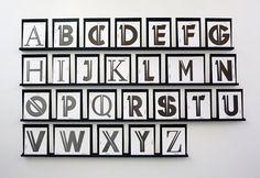 Cobbenhagen Hendriksen - De Hallen Haarlem [exhibition] #identity #typeface