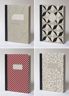 Stationery, Invitations, Greeting Cards, and Paper Crafts :: Paper Crave #pattern #notebooks #papier tigre