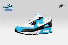 Trainer Icon's : welcom to La La Land #vector #icon #trainer #nike #sneaker