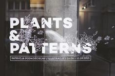 PLANTS & PATTERNS / PRESS ILLUSTRATION