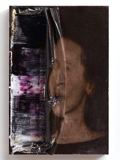 Nicola Samorì | PICDIT #design #painting #art #mixed #media