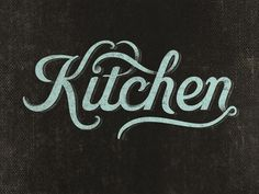 Typeverything.com, by Sergey Grigoryan #type #kitchen #lettering #typography