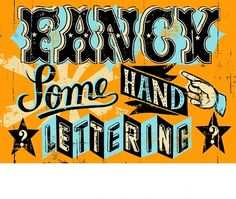 Fancy some hand lettering? #type #lettering