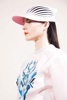 tumblr_muemn4NXZY1qftbu3o1_400.jpg (333×500) #fashion #cap #pink