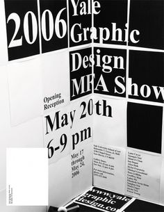 All sizes | 2006 Yale Graphic Design MFA Show | Flickr - Photo Sharing! #graphic design #yale