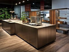 HT50 Kitchen System Design by Massimo Castagna elegant styling kitchen #interior #design #decor #home #kitchen