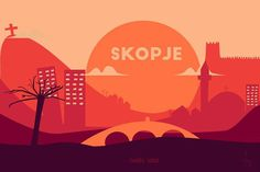 #skopje #illustration