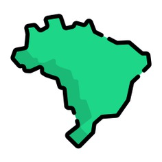 See more icon inspiration related to brazil, maps and location, brazilian, territory, country, map, silhouette and shape on Flaticon.