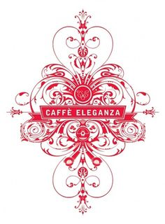 Caffè Eleganza Branding on Branding Served #design #graphic #motif