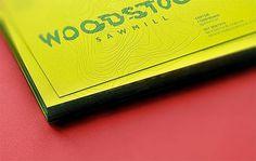 Woodstock Sawmill Branding by Tough Slate Design #print