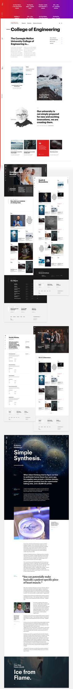 CMU School of Engineering on Behance