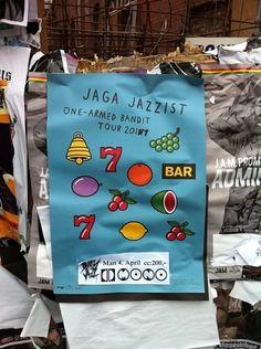 Jaga Jazzist | postposters #norway #vector #yokoland #illustration #poster #postposters
