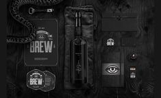 Bitches Brew by Wedge & Lever #brewery #beer #packaging #print #identity