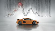 Art by Yasuaki Onishi Art directed by Vinny Olimpio Photo by: Benedict Redgrove  #art #automotive #audi #r8 #audir8 #artdirection
