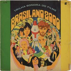 Ian Gabb : collection #design #graphic #record #cover #vintage #soundtrack #music #brazil #typography
