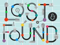 Baubauhaus. #digital #quirky #geek #typography